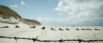 Land of Mine: una suggestiva immagine tratta dal film