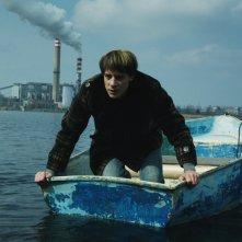 Mózes, il pesce e la colomba: Márton Kristóf in una scena del film
