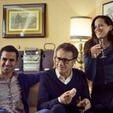 Seconda primavera: Angelo Campolo, Claudio Botosso e Tiziana Lodato in una scena del film