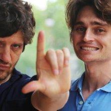 Tiramisù: Fabio De Luigi e Angelo Duro in un'immagine promozionale del film