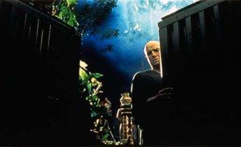 Marlon Brando in una sequenza di Apocalypse Now