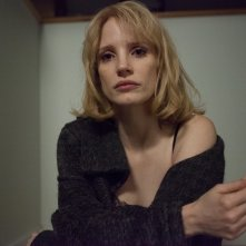 1981: Un'indagine a New York, una intensa Jessica Chastain in una scena del film