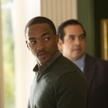 All'ultimo voto: Anthony Mackie in una scena del film