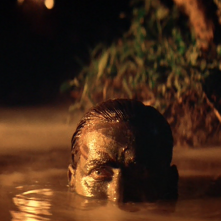 Martin Sheen in una scena di Apocalypse Now