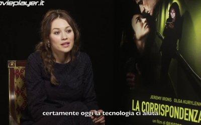 La corrispondenza: video-intervista a Olga Kurylenko