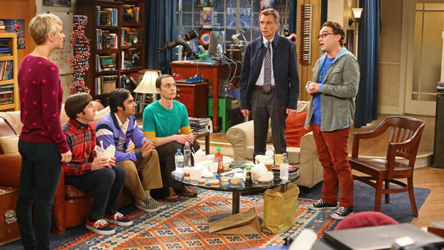 Billy Bob Thornton in un episodio della stagione 8 di The Big Bang Theory