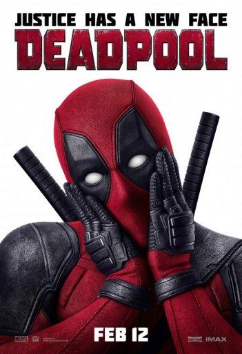 Deadpool: un poster dell'eroe in versione romantica