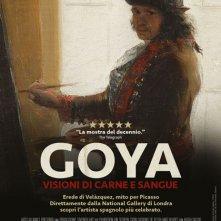 Locandina di Goya - Visioni di carne e sangue