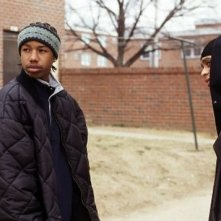 Michael B. Jordan in The Wire
