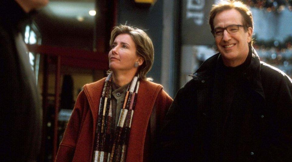 Love Actually: Emma Thompson e Alan Rickman