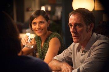 Perfetti sconosciuti: Valerio Mastandrea e Anna Foglietta in una scena del film