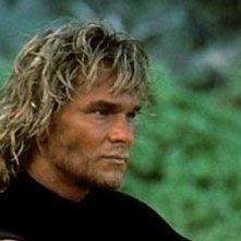 Point Break: Patrick Swayze in una scena