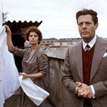 Una giornata particolare: Marcello Mastroianni e Sofia Loren