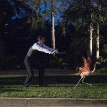 Agent Carter: Edwin Jarvis alle prese con un fenicottero nell'episodio A View in the Dark