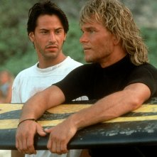 Patrick Swayze e Keanu Reeves in Point Break