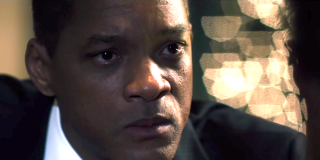 Will Smith in una scena di Zona d'ombra