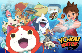 Una scena di Yo-Kai Watch
