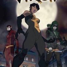 Vixen: un poster della serie animata