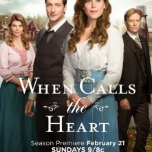When Calls the Heart: un poster della serie