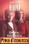 Locandina di Miss Marple - Prova d'innocenza