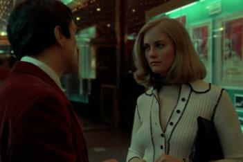 Robert De Niro e Cybill Shepard in Taxi Driver