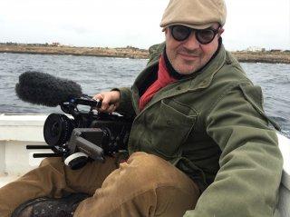 Fuocoammare: il regista Francesco Rosi sul set del suo nuovo atteso lavoro documentaristico