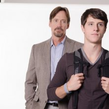 God's Not Dead: Shane Harper e Kevin Sorbo in una scena del film