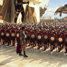 Gods of Egypt: Gerard Butler di fronte a una legione