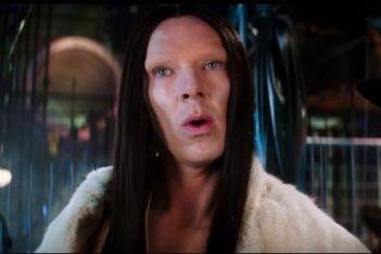Zoolander 2: Benedict Cumberbatch in una scena del film