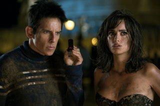 Zoolander 2: Penelope Cruz e Ben Stiller in una scena del film