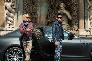 Zoolander 2: Ben Stiller e Owen Wilson in una scena del film