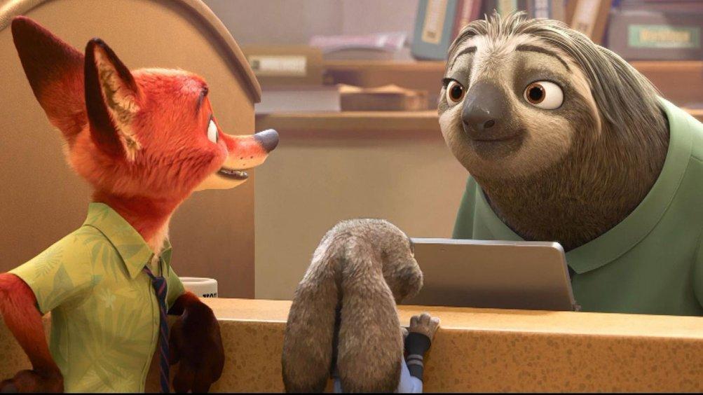 Zootropolis: un'immagine tratta del film animato