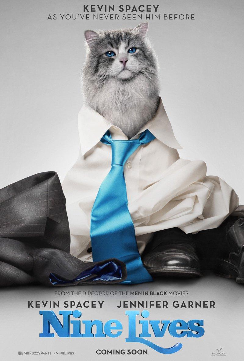Nine Lives: il poster della commedia