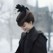 A Serious Game: una sorridente Karin Franz Körlof in un momento del film