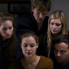 All of a Sudden: un'immagine che ritrae i personaggi principali del film
