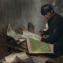 Crosscurrent: Qin Hao in una scena del film