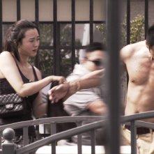 Dog Days: Huang Lu e Tian Mu Chen in una scena del film