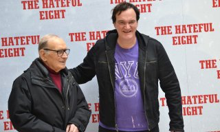 Tarantino presenta The Hateful Eight a Roma con Morricone