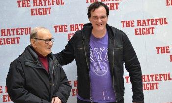 Tarantino presenta The Hateful Eight a Roma con Morricone