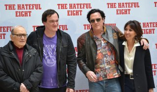 Quentin Tarantino presenta The Hateful Eight con Morricone e Michael Madsen