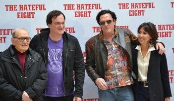 Quentin Tarantino presenta The Hateful Eight con Morricone e Michael Madsen