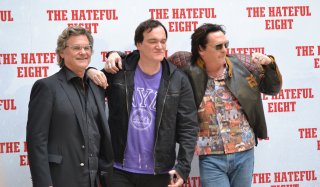 The Hateful Eight: Tarantino presenta il film a Roma con Kurt Russell e Michael Madsen