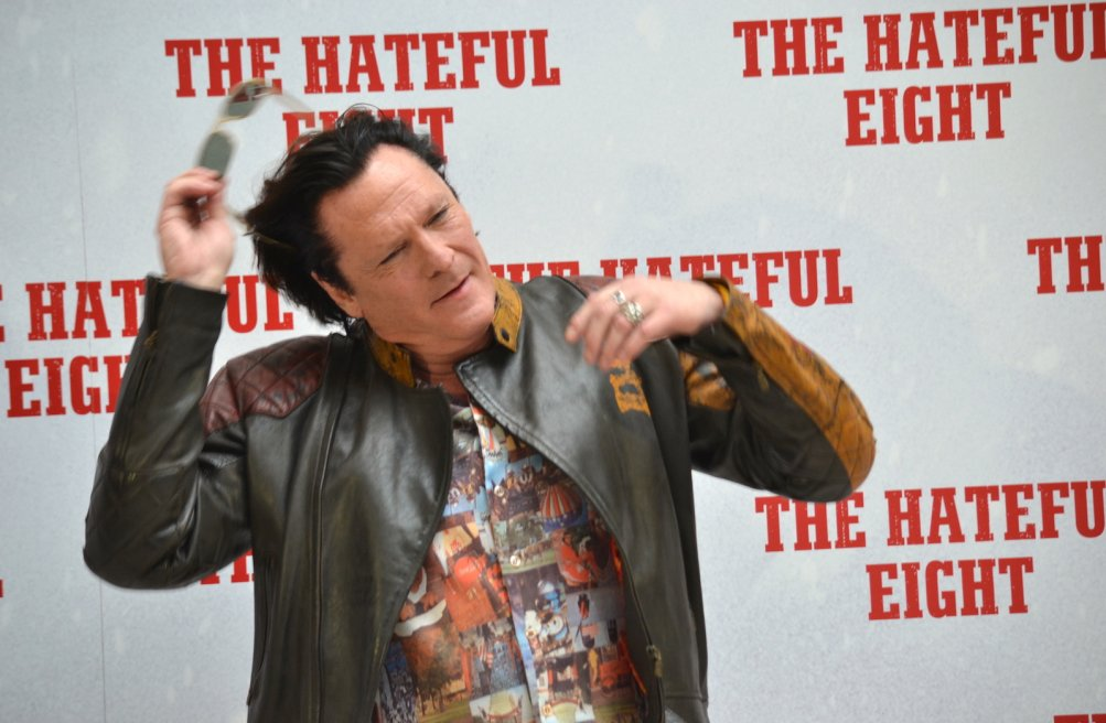 The Hateful Eight, Michael Madsen presenta il film a Roma