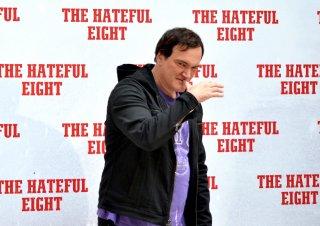 Tarantino presenta il suo The Hateful Eight a Roma