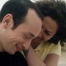Hedi: Majd Mastoura e Rym Ben Messaoud felici in una scena del film