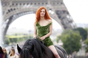 Saint amour: Céline Sallette in una scena del film