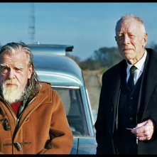 The First, the Last: Michael Lonsdale e Max von Sydow in una scena del film