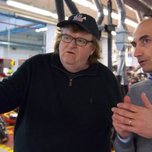 Where to Invade Next: Michael Moore in una scena del suo documentario