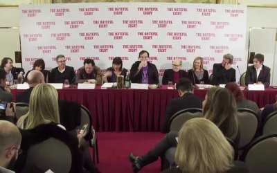 The Hateful Eight - Conferenza Stampa