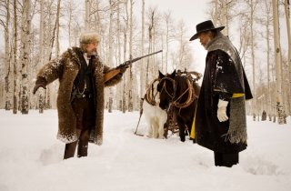 The Hateful Eight: Kurt Russell minaccia Samuel L. Jackson